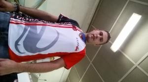 vestibilità abbigliamento sportivo  - maglia volley uomo sublimata a torino, taglie disponibili M L XL