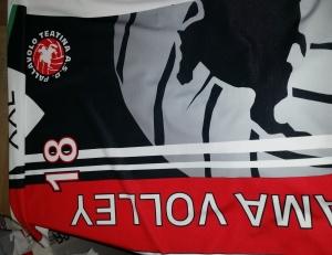 volley maglia sublimata del libero - maglia del libero che sara successivamente confezionata